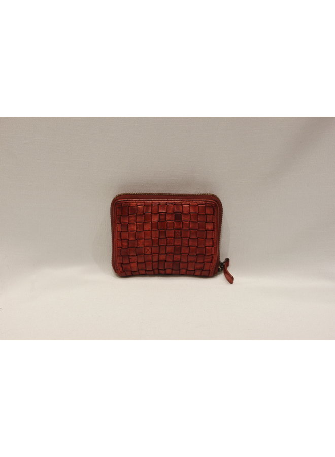 Weave Small wallet fully zipped 25315