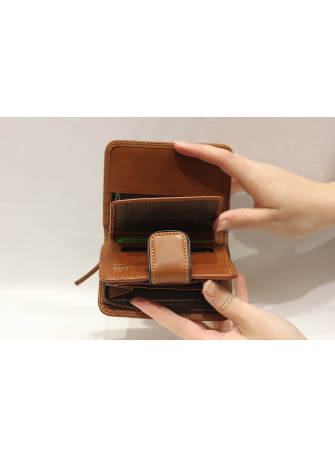 Wallet small w/snap 588320