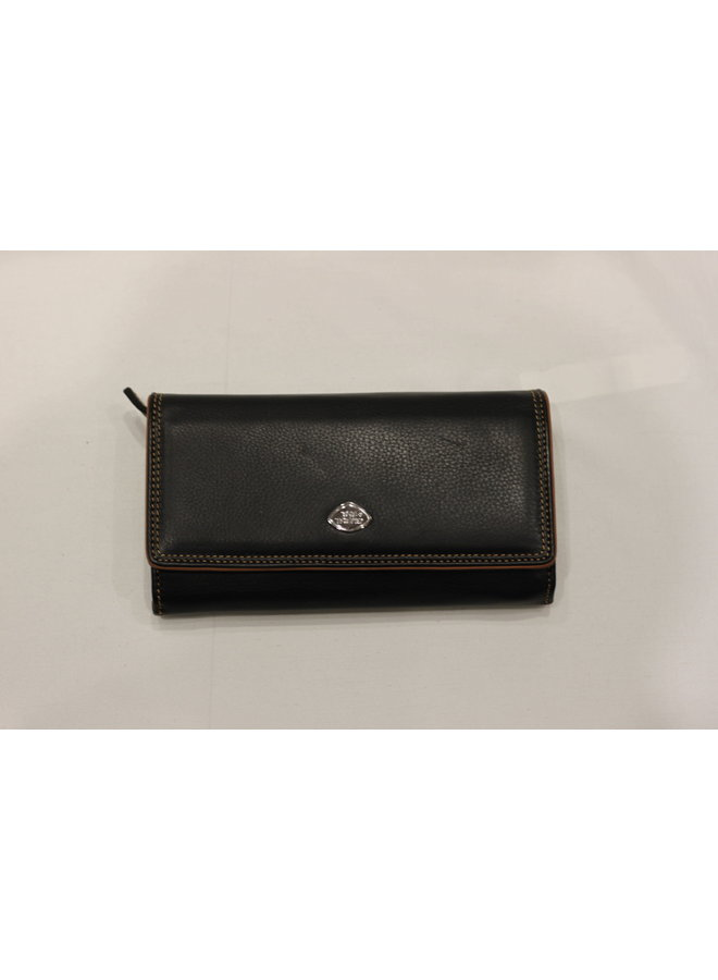 Wallet Large 2 sections w/coin 588344
