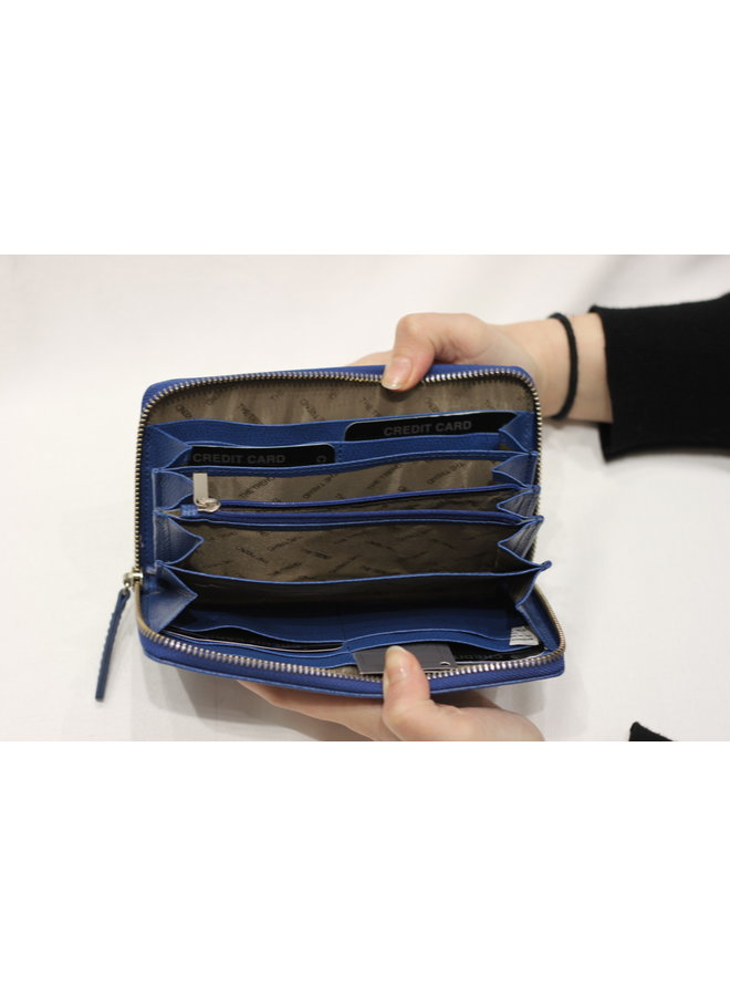 Wallet Fully zipped w/2 sections 2158106