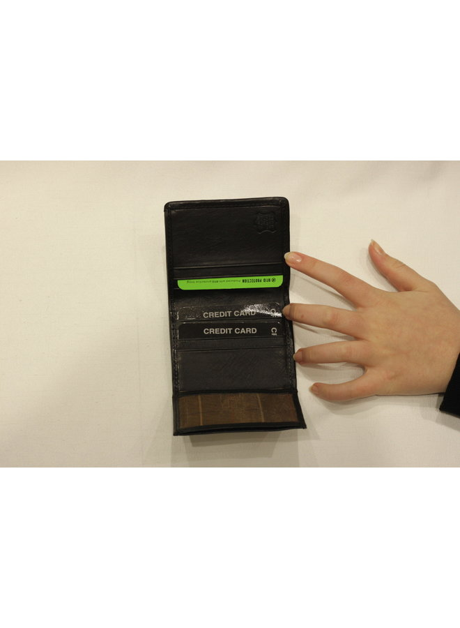Wallet Compact 3 section folded cardholder 917647