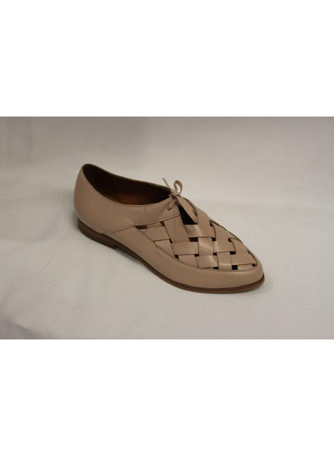 Flat Dressy Lace-up summer shoe 2178-16K