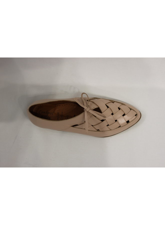 Flat Dressy Lace-up summer shoe 2178-16K