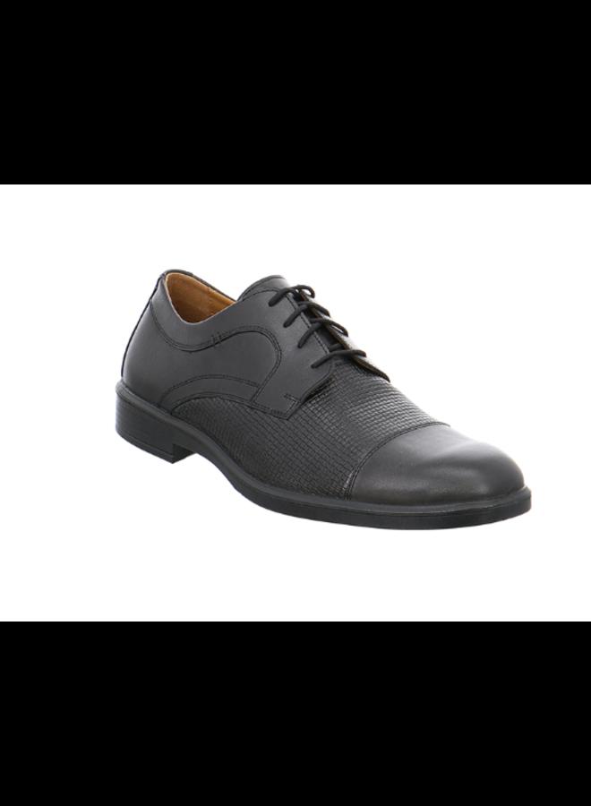 Cap toe knit dress shoe 208218
