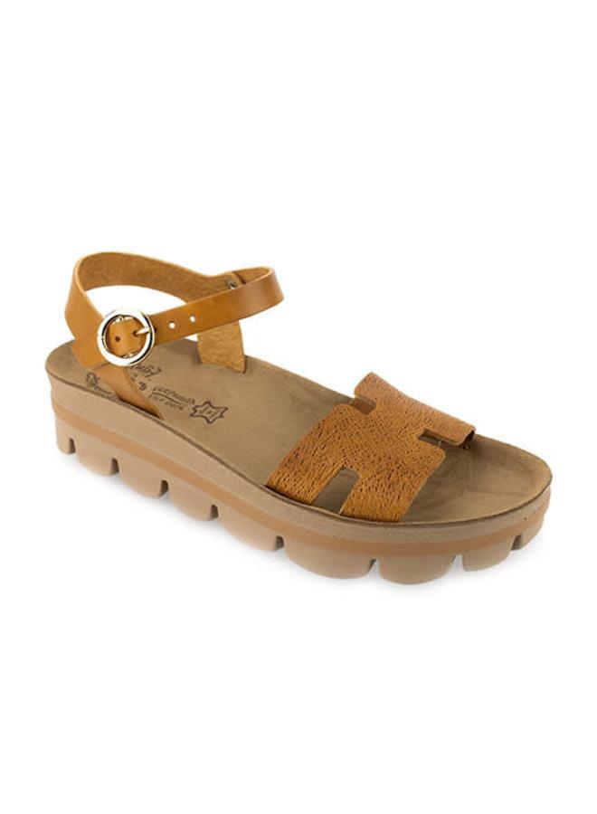 Soft Leather Small Platform Sandal MARINA