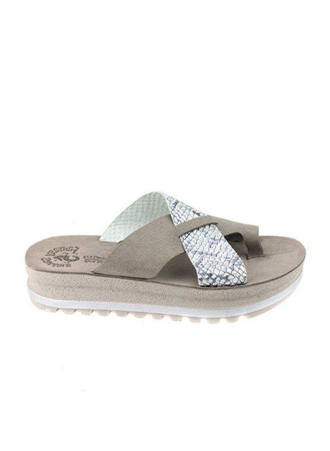 Crossover Soft Strap Platform Sandal SANSA