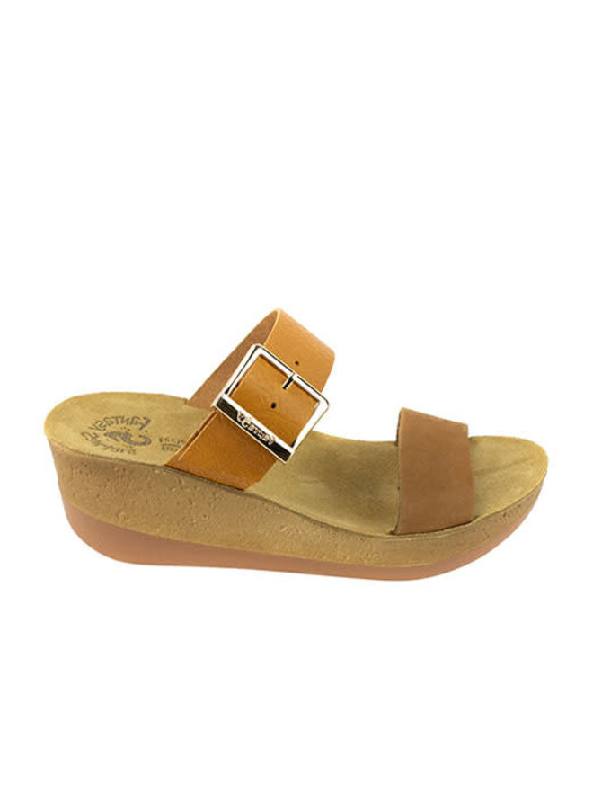 Adjustable Double Strap Wedge ARTEMIS