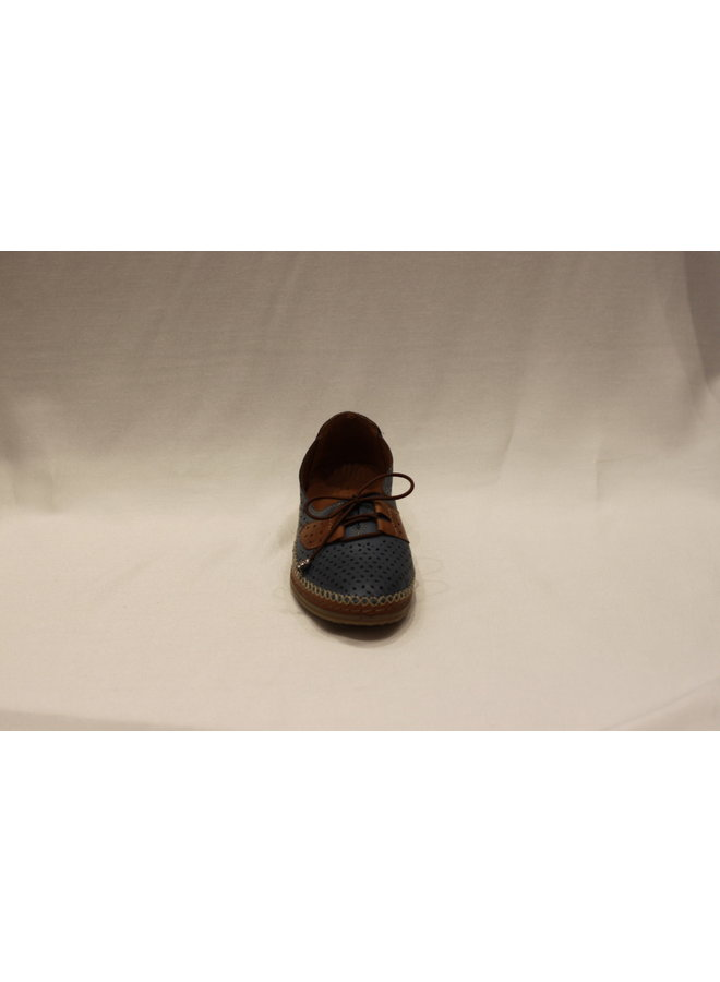 Stitched sneaker 383.708.1