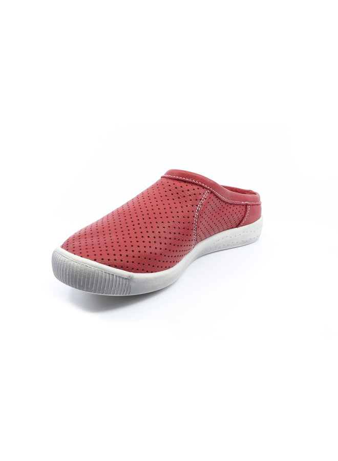 Perforated leather Mule IMA