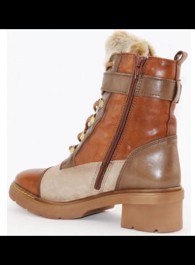Lace-up boot w/zipper GHI99128 Victoria