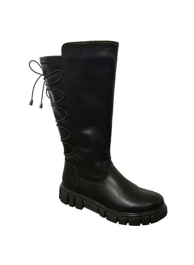 Lace-up back boot B50034