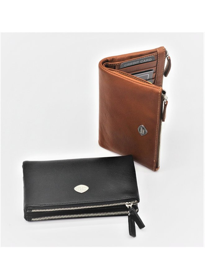 Folded snap 3/4 wallet 588239