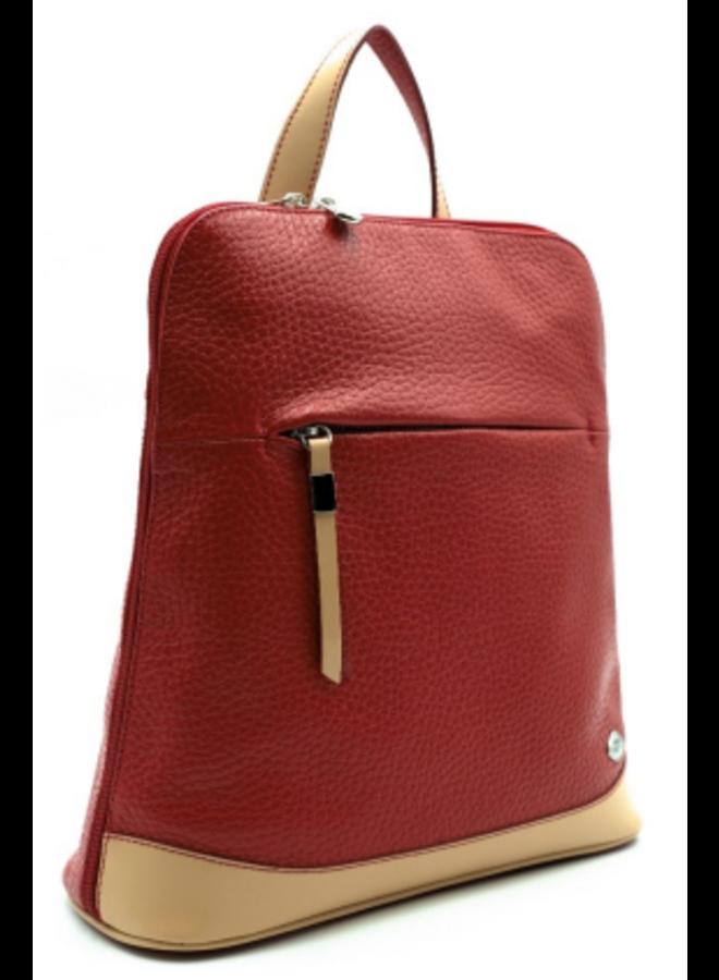 Midsize Contrast Flat Backpack 748153