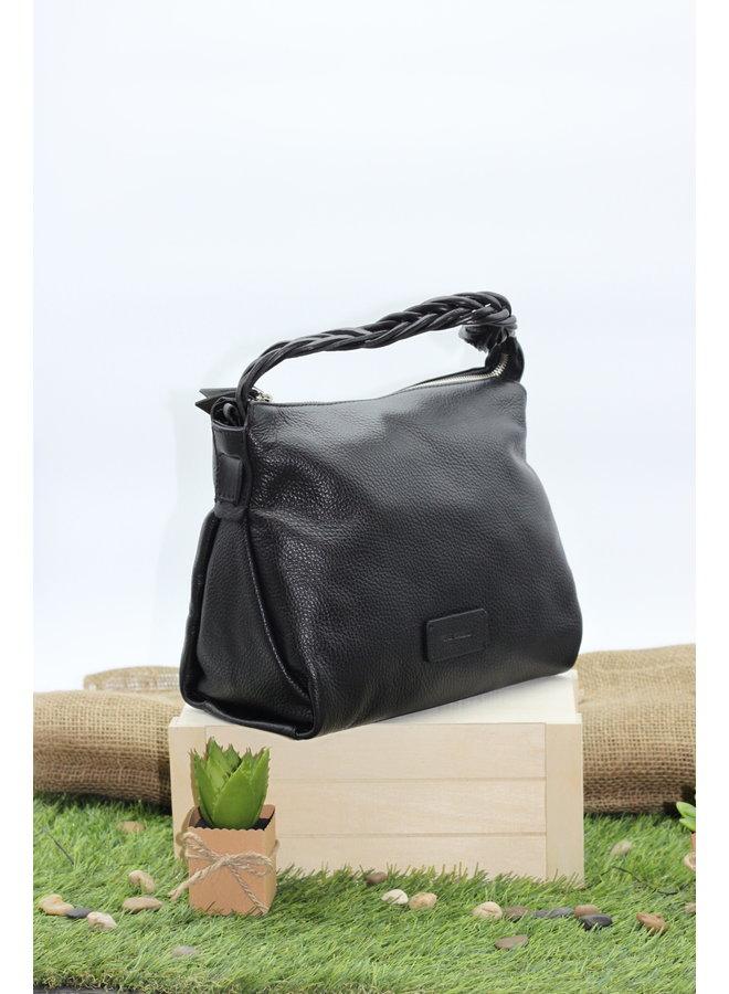 Small Braided Crossbody handbag w/strap 2464232