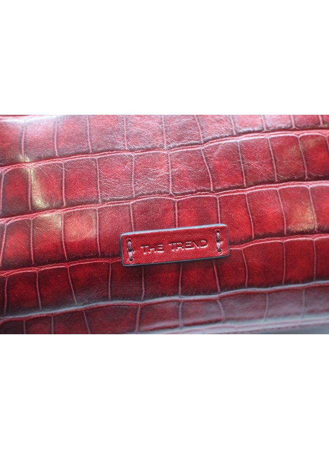 Midsize Croco Tote     9493918