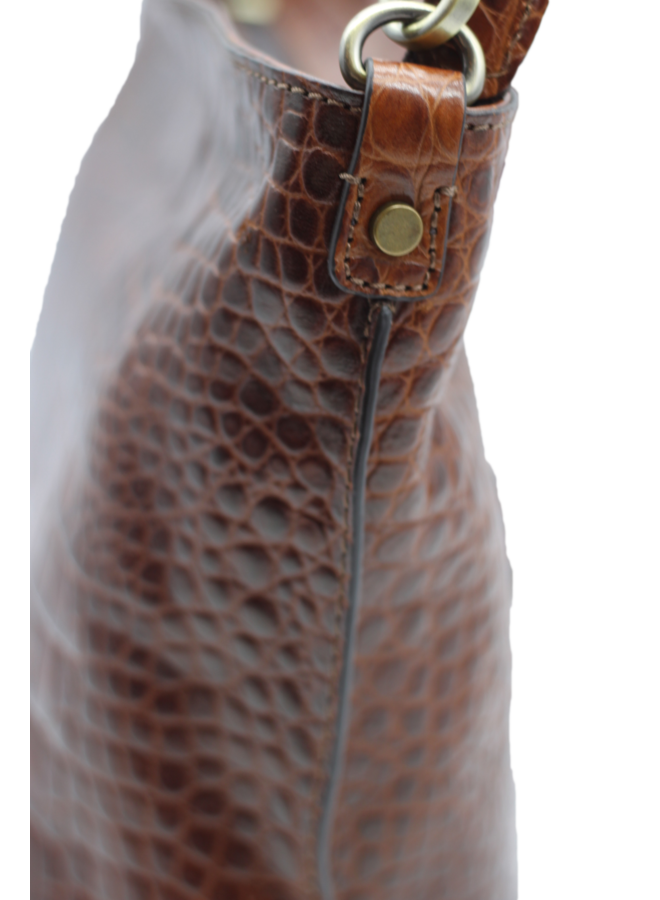 Midsize Croco shoulder     9493028