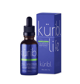 Kuribl Mint CBD Oil Full Spectrum 500 MG