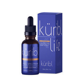 Kuribl Cinnamon CBD Oil Full Spectrum 500 MG