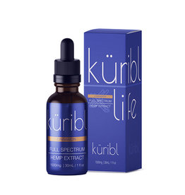 Kuribl Cinnamon CBD Oil Full Spectrum 1500 MG