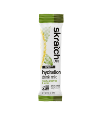 SKRATCH LABS Sport Hydration Mix Matcha Green Tea and Lemon