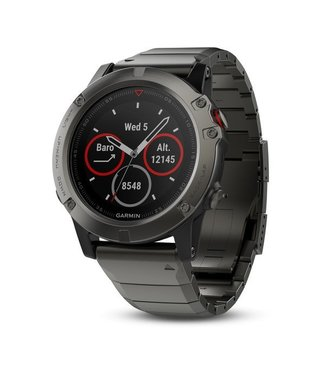GARMIN FENIX 5X Slate Gray with Metal Band