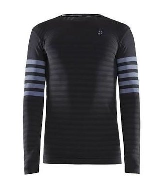 CRAFT MEN'S FUSEKNIT COMFORT BLOCKED RN LS