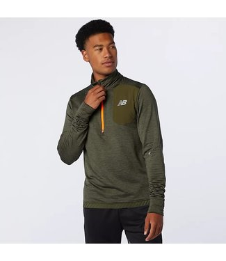 NEW BALANCE Men's Run Grid Back Half Zip