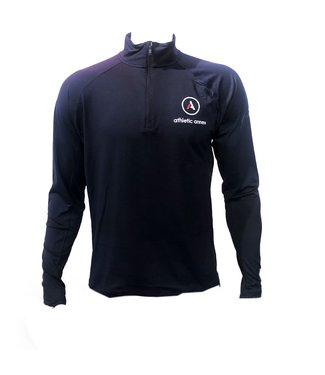 ATHLETIC ANNEX Men's Dash 1/2 Zip Long Sleeve