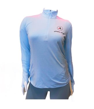 ATHLETIC ANNEX Women's Dash 1/2 Zip Long Sleeve
