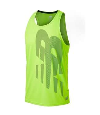 NEW BALANCE Men's Printed Accelerate Singlet