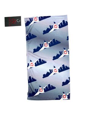ATHLETIC ANNEX Indy Skyline Flag Tubular Bandana