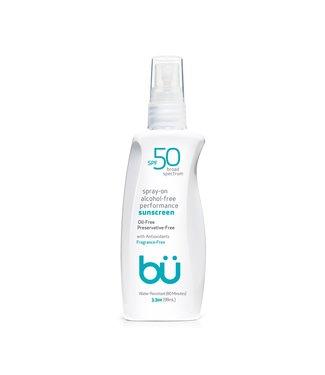bü Bu SPF 50 Alcohol-Free Spray