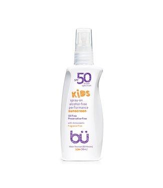 bü Bu SPF 50 Alcohol-Free KIDS Spray