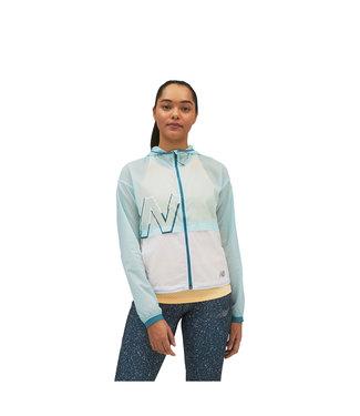 NEW BALANCE Women's Printed Impact Run Light Pack Jacket