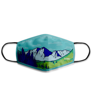 BOCO GEAR Face Mask - Faded Mountains
