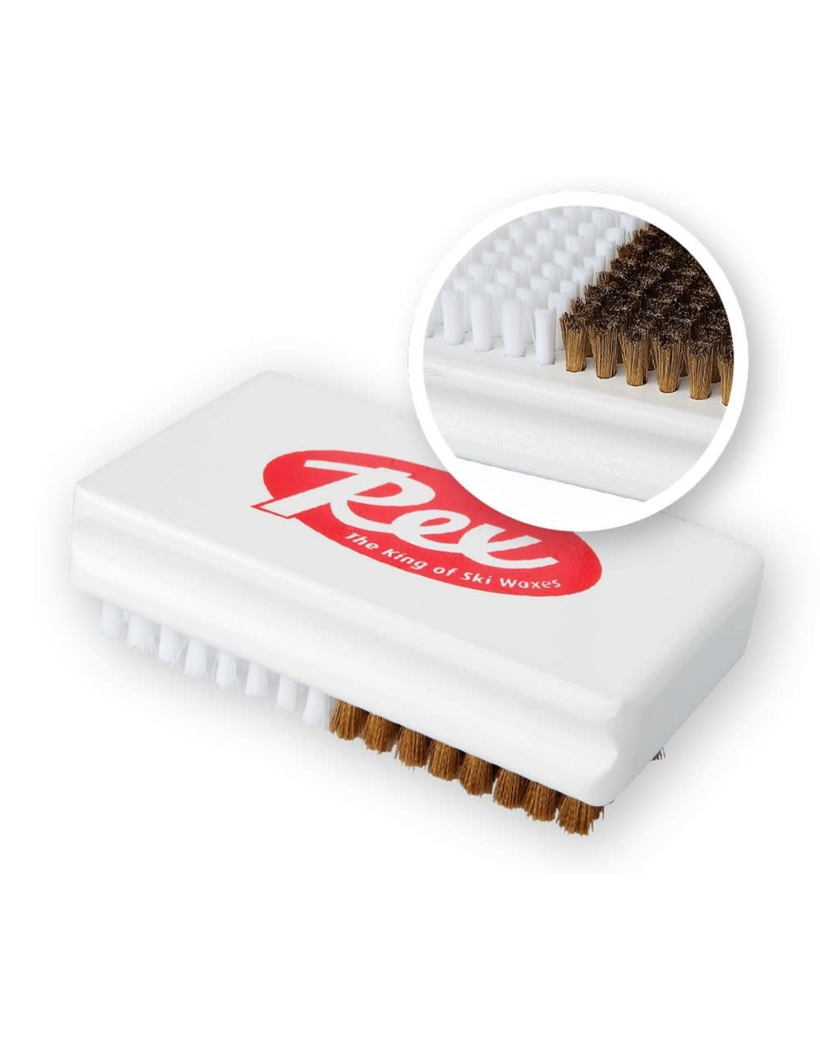 Rex Rex Brass/Nylon Combi Brush