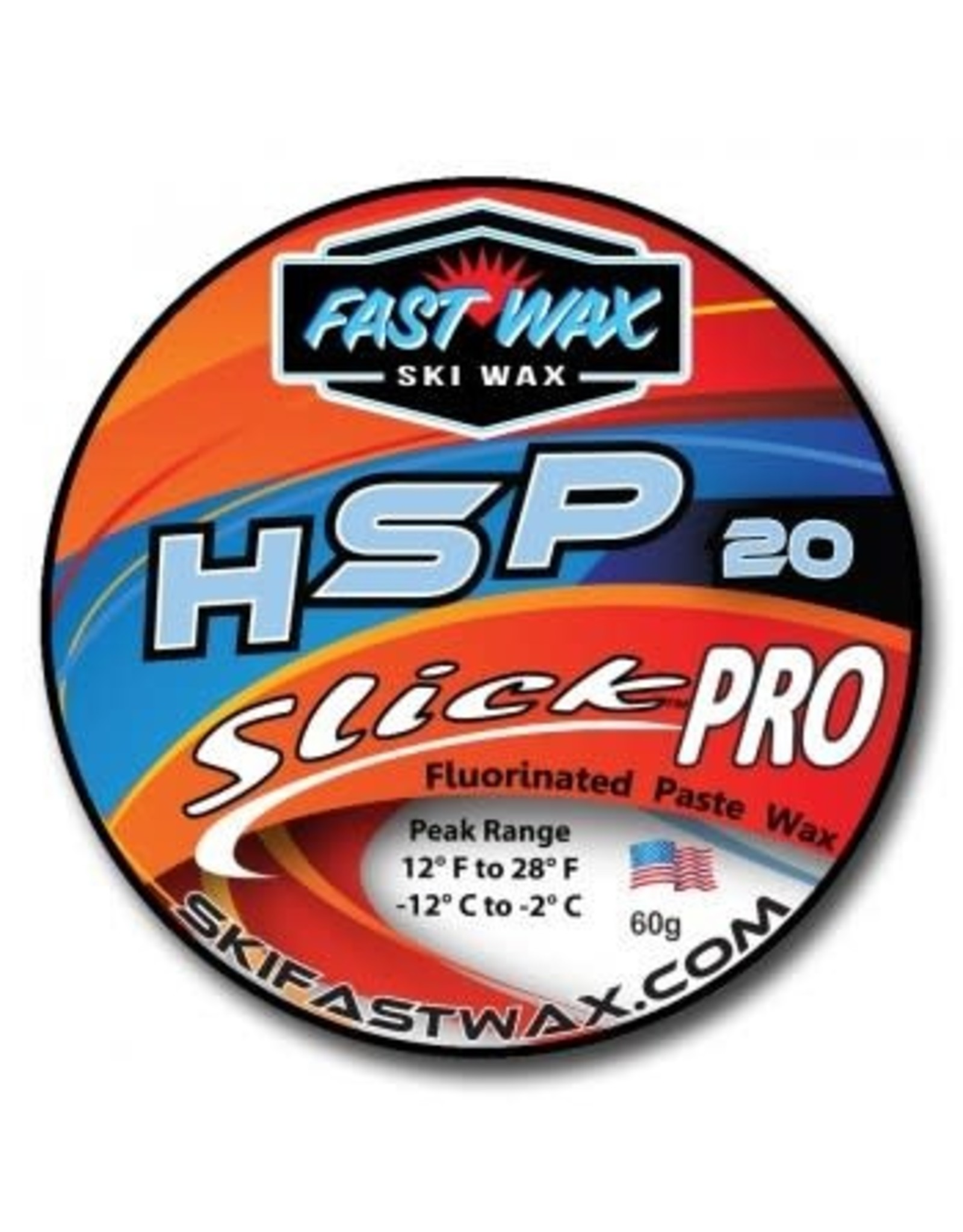 Fast Wax Fast Wax SlickPro HSP 20 Blue