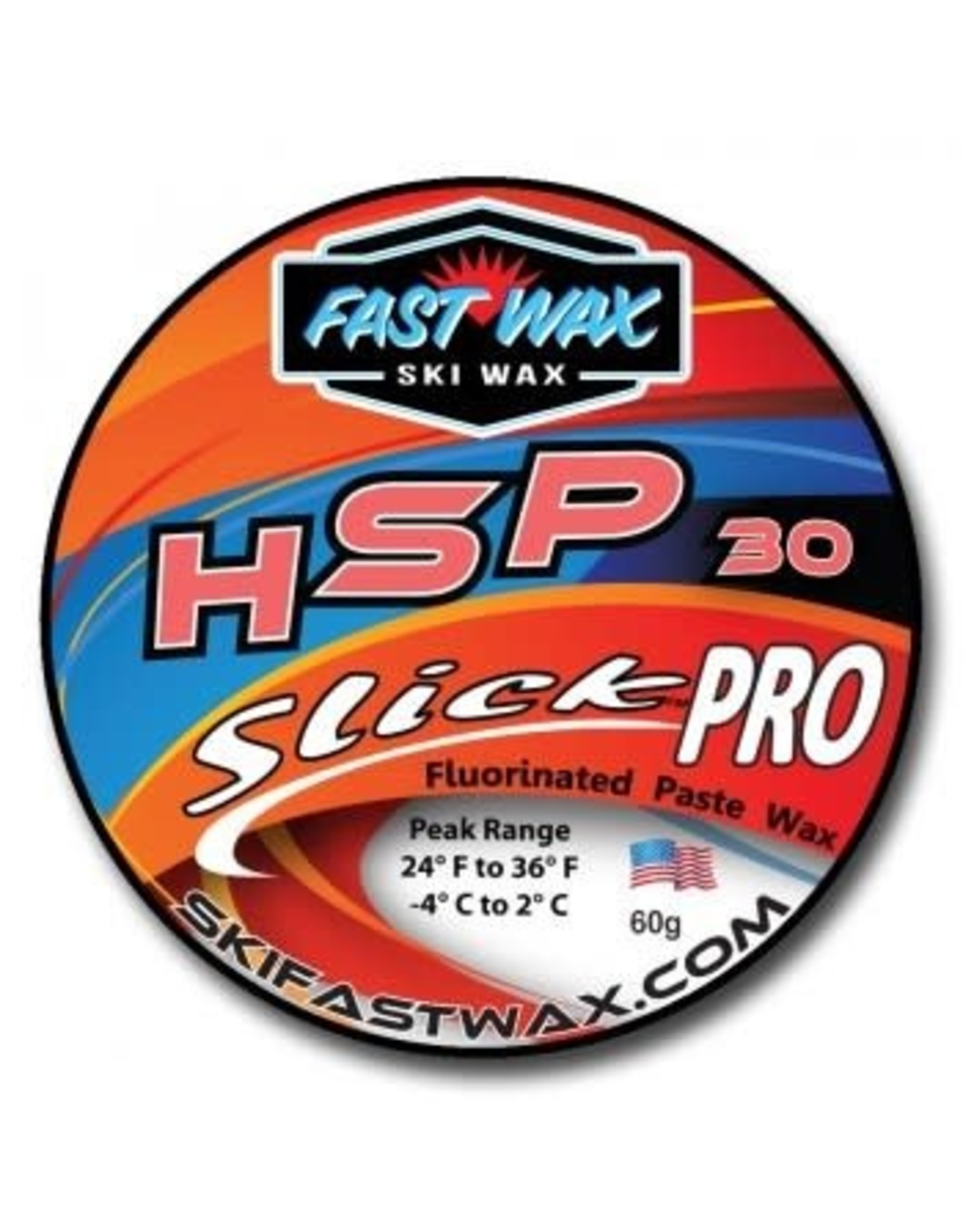 Fast Wax Fast Wax SlickPro HSP 30 Red
