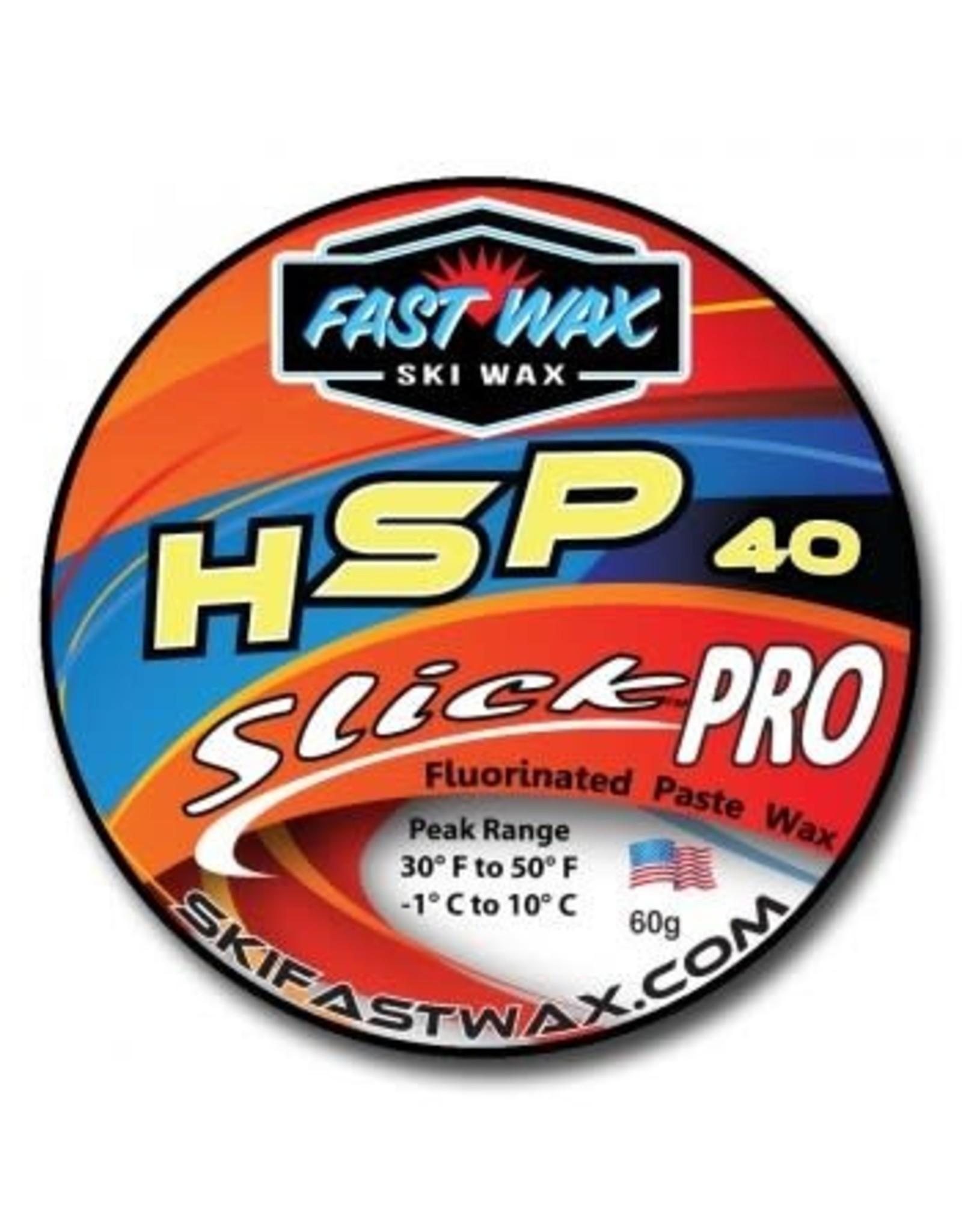 Fast Wax Fast Wax SlickPro HSP 40 Yellow