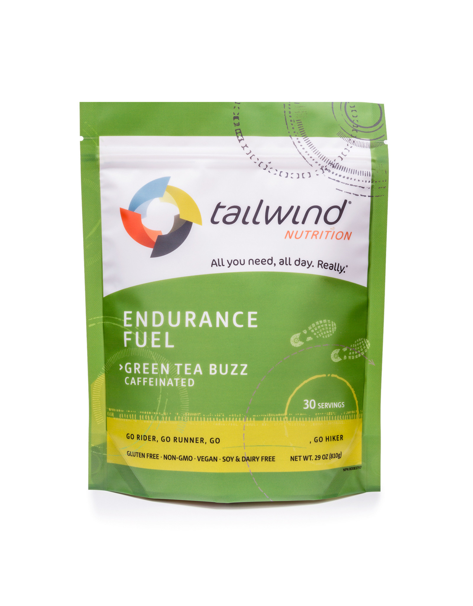 Tailwind Nutrition Tailwind Caffeinated Endurance Fuel 30 Serving Bag