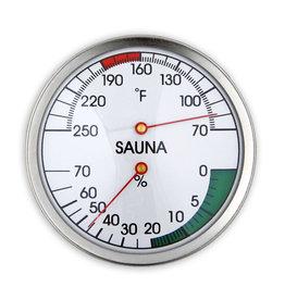 Finnleo Finnleo Thermometer/Hygrometer, Round