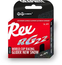 """Rex Rex Glider RG22 Graphite """"New Snow"""" 40g"""