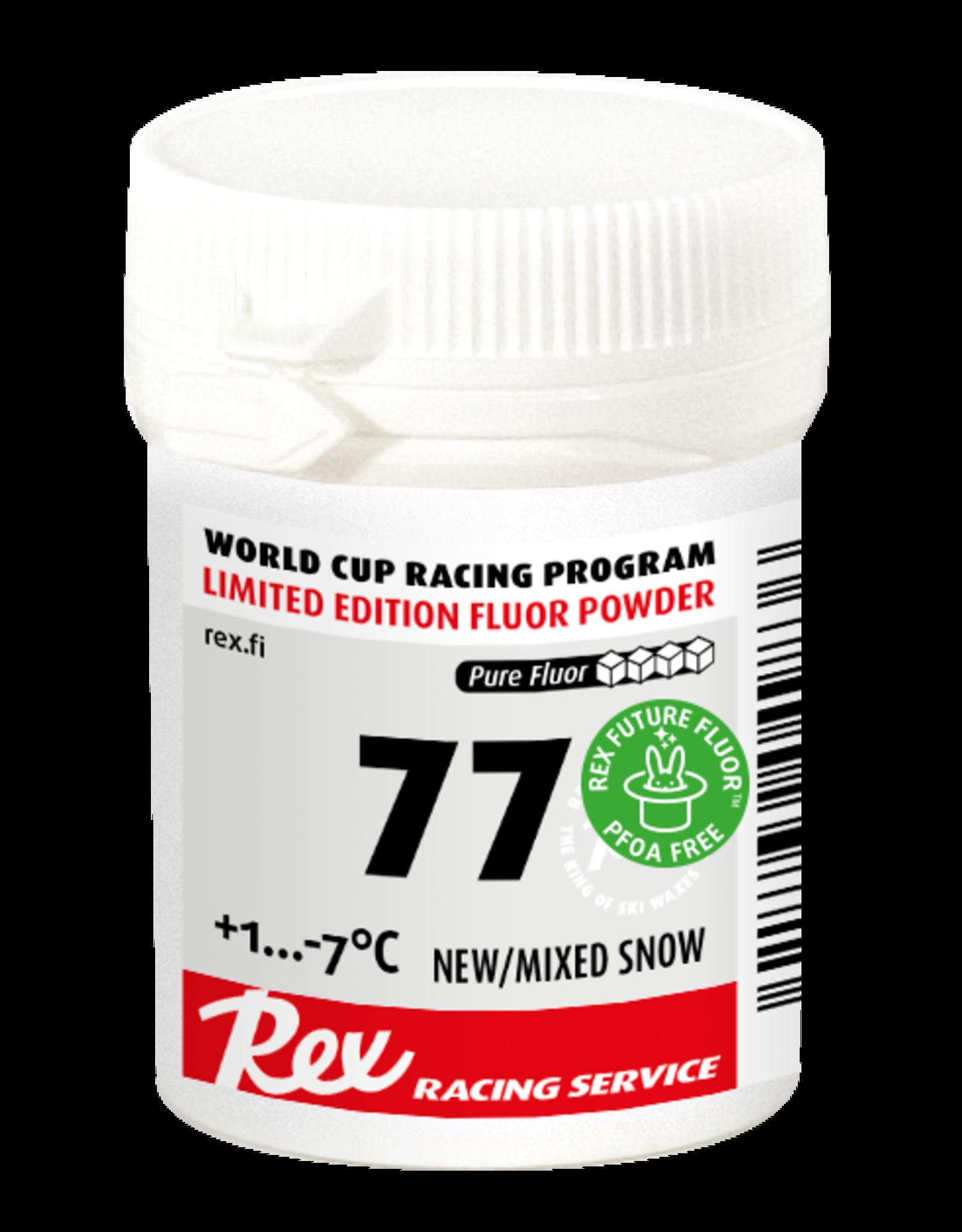 """Rex Rex Glide Racing Service """"77"""" Fluor Powder"""