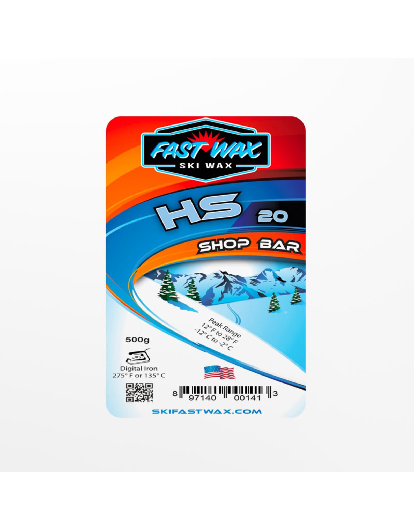 Fast Wax Fast Wax Shop HS 20 Blue