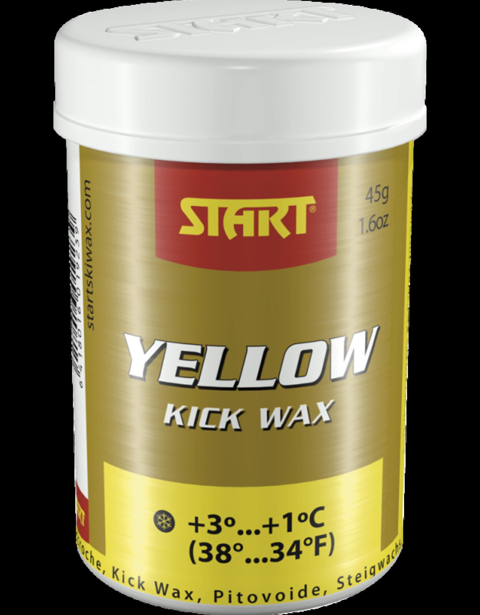 Start Start Kick Synthetic Yellow
