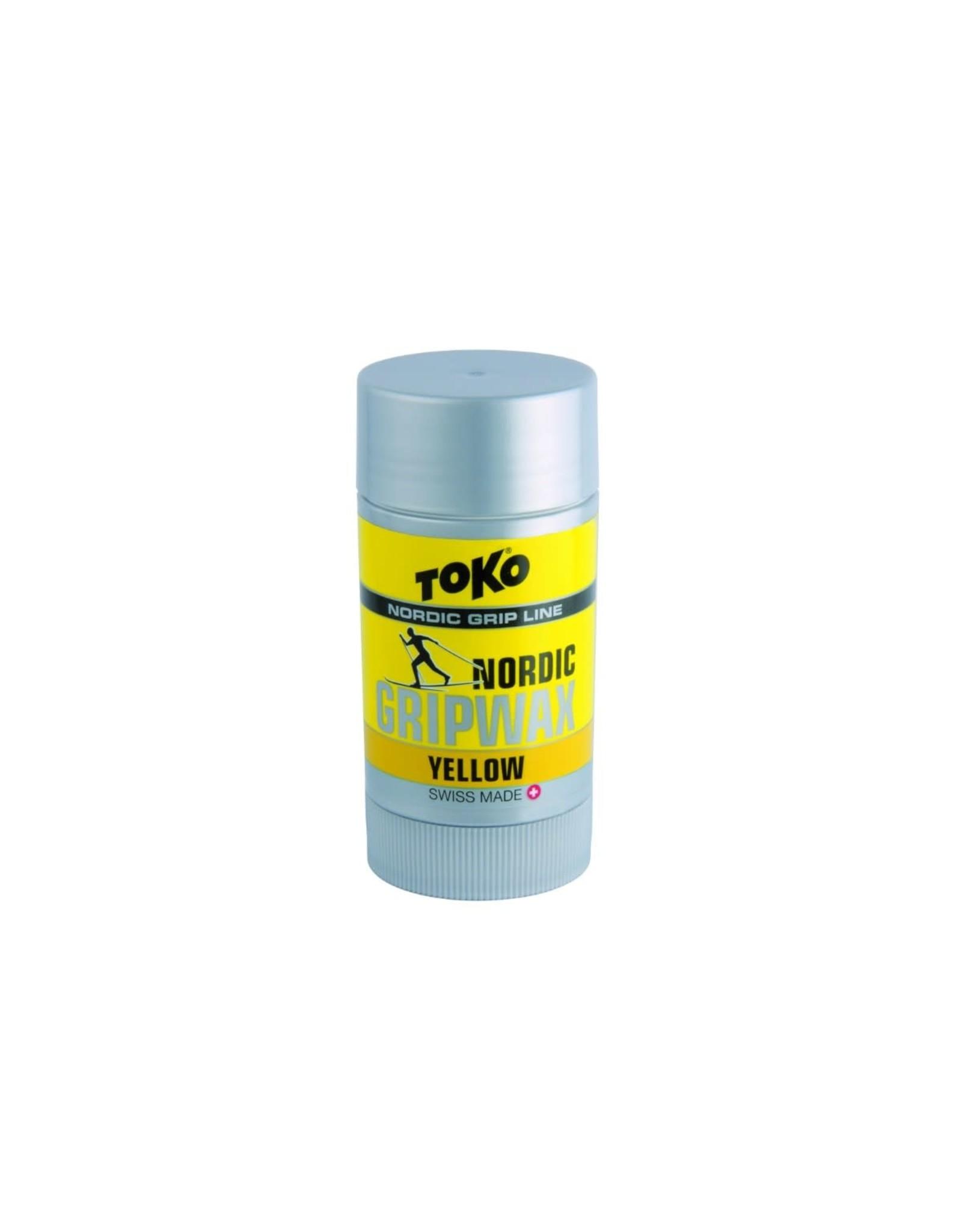 Toko Toko Nordic Grip Wax Yellow