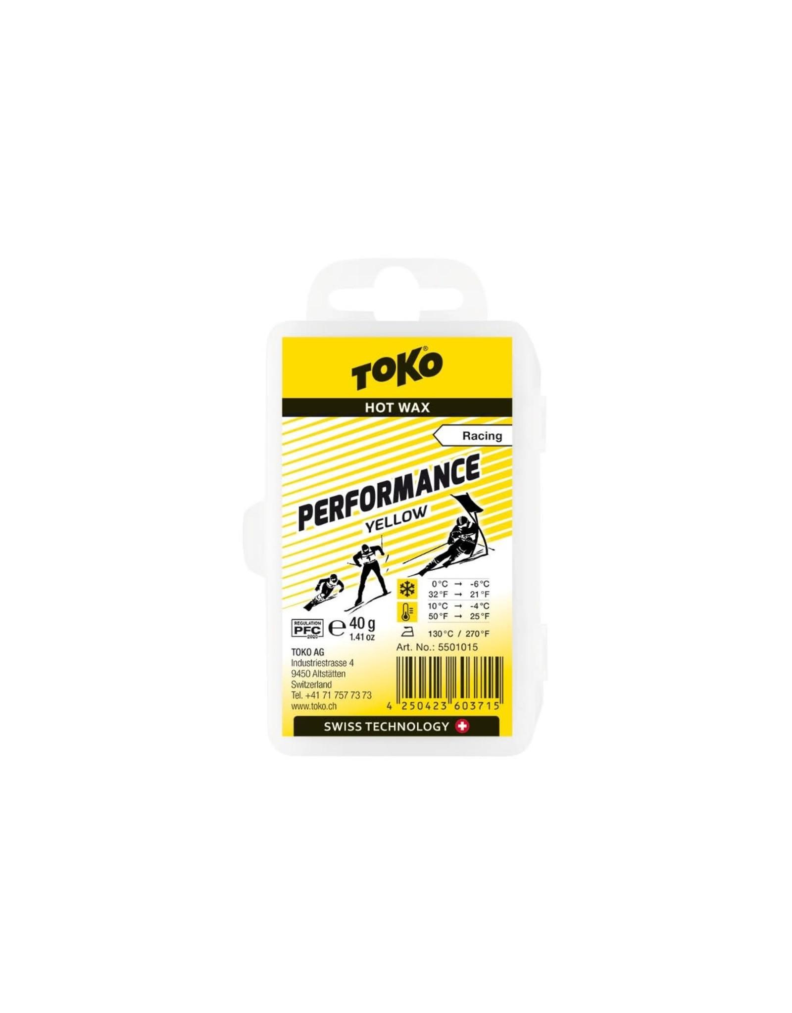 Toko Toko Performance Hot Wax Yellow