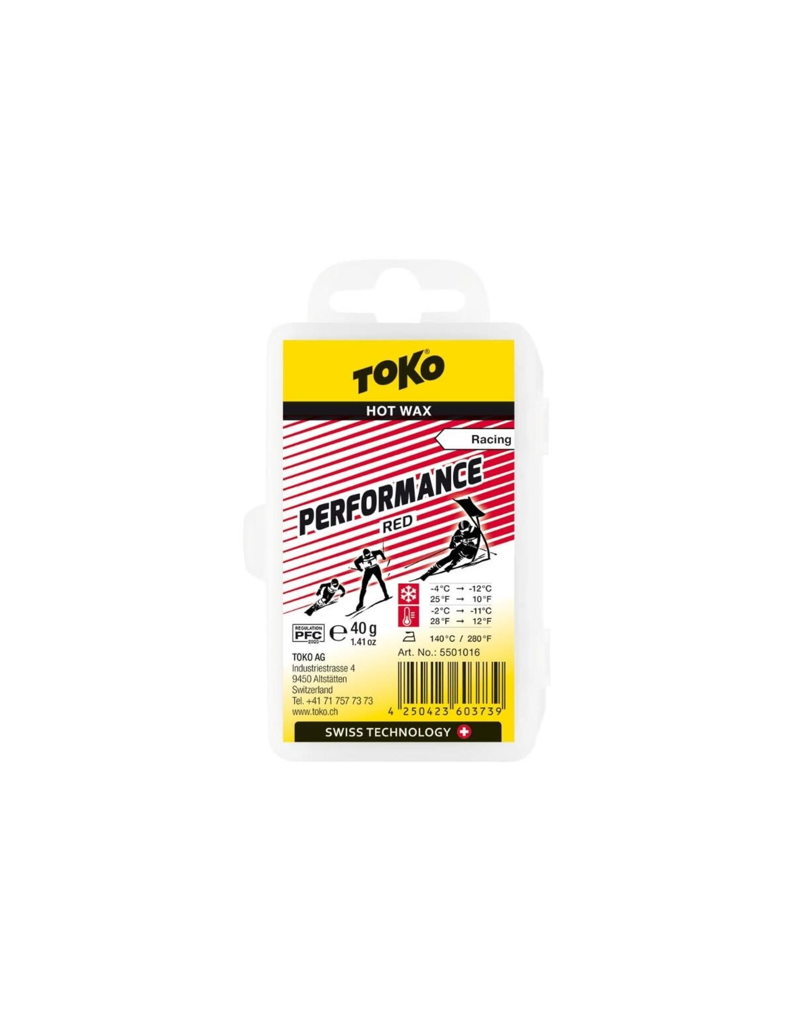 Toko Toko Performance Hot Wax Red
