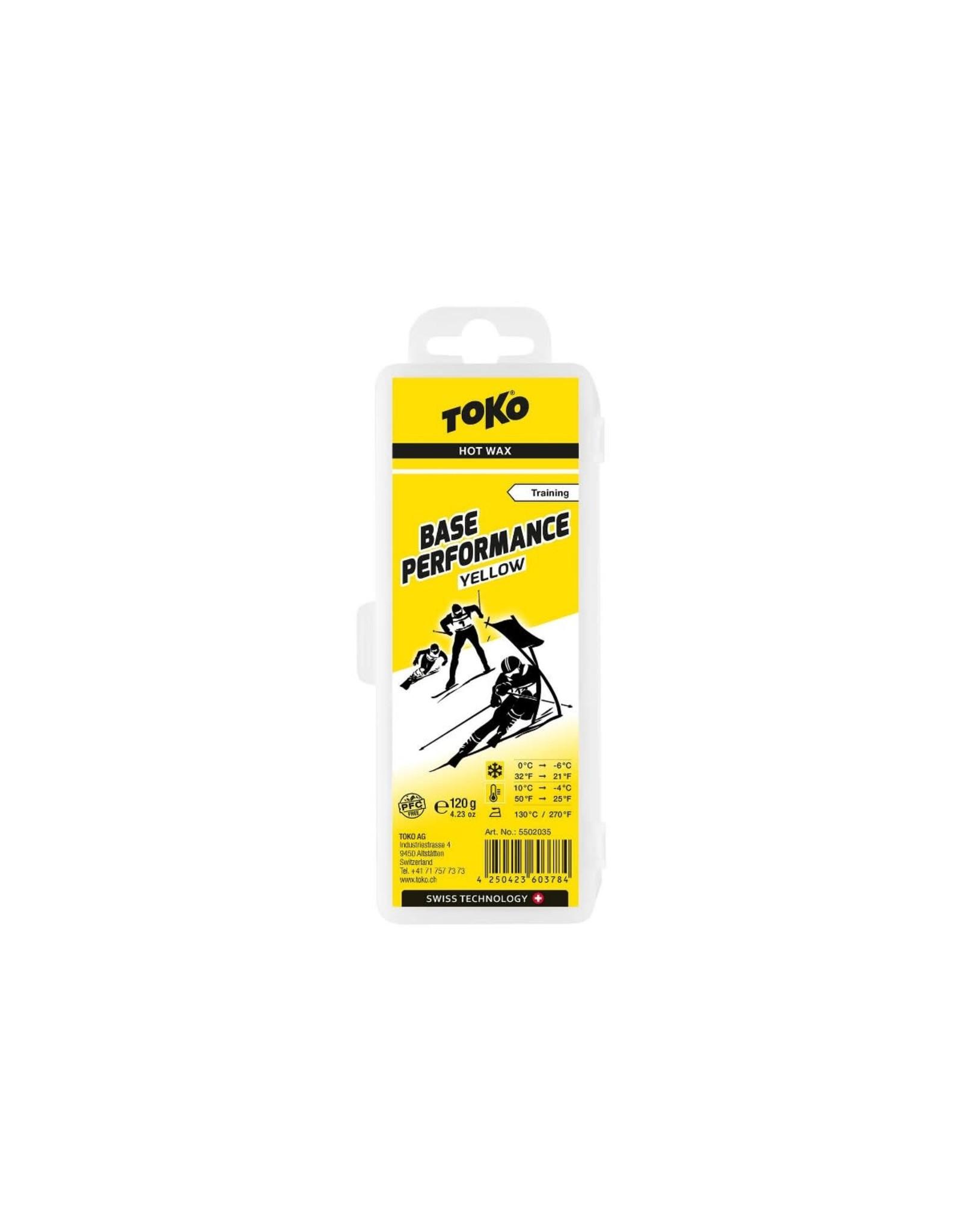 Toko Toko Base Performance Hot Wax Yellow