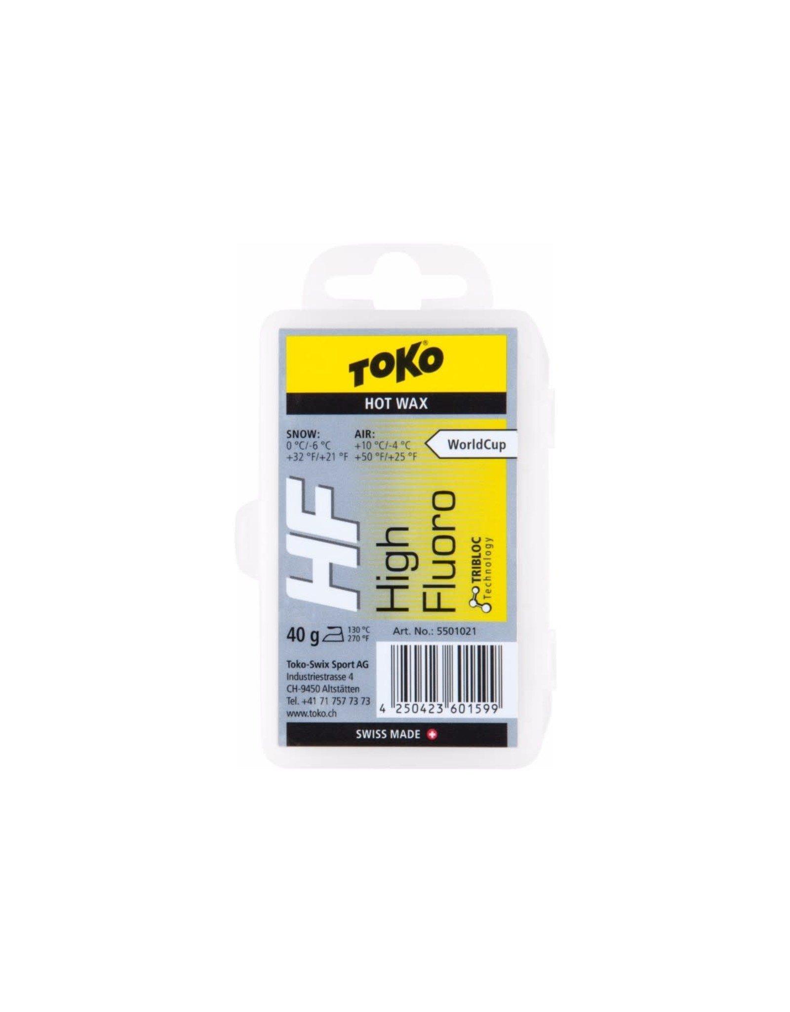 Toko Toko HF Hot Wax Yellow